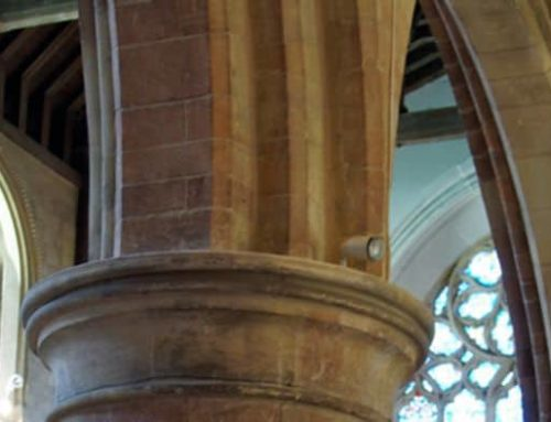 Columns and Pews